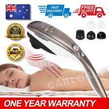 Electric Hand held Massager Full Body Massage Heat Beurer Neck Back Shoulder Leg