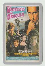 2006 Spanish Pocket Calendar featuring Brides of Dracula Poster Peter Cushing
