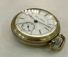 Hampden  18s  17j Pocket Watch! Ticks !