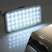 12V White Car Ceiling Dome Roof Interior 36 LED Rectangle Light  Reading Lights