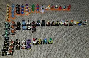 Lego Minifigure Lot of 72 figures Series 18 Ninjago Movie Batman Movie Series 2