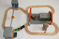 Thomas The Tank Engine Wooden Railway Percy at the  DieselWorks  Complete