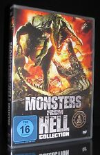 DVD MONSTERS FROM HELL COLLECTION - 6 FILME DINOSHARK + SUPERGATOR + THE RIG NEU