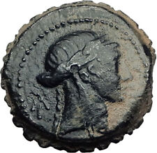 SELEUKOS IV PHILOPATER 187BC Seleukid APOLLO Authentic Ancient Greek Coin i65149