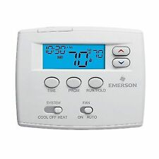 Emerson 1F82-0261 5-1-1 Programmable Low Voltage Thermostat