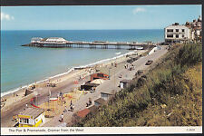 Norfolk Postcard - The Pier & Promenade, Cromer From The West   J829