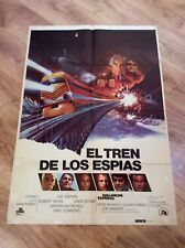 AVALANCHE EXPRESS Original Movie Poster LEE MARVIN ROBERT SHAW LINDA EVANS