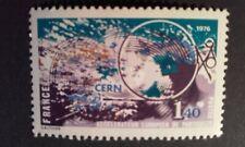 TIMBRE GRANDES REALISATIONS FRANÇAISES ACCELERATEUR EUROPEEN DE PARTICULES CERN