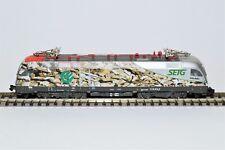 """MINITRIX - 12550 - Elektrolokomotive, Baureihe 1116 der SETG """"Hackschnitzellok"""""""