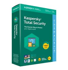 Kaspersky Total Security 2021 1 PC / Dispositivo 1 ANNO Antivirus