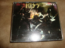 KISS 2cd ALIVE  paul stanley/ace frehley free US shipping.....---.....