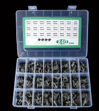 840pcs Transistor To 92 Assortment 24 Value Npn Pnp Diy Kit 2n2222 S9018 Bc327