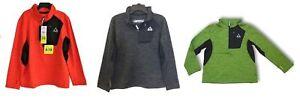 Gerry Boys 1/4 Zip Lightweight Athletic Fleece Jacket - Size/Color Varies    I-9