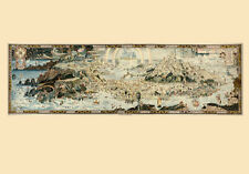 "20x30"" CANVAS Decor.Room design art print..Ancient map of Faityland.Fairy.6123"