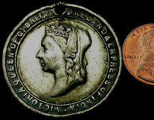 P603: 1897 Queen Victoria British Royal Family Medal - Golden Jubilee
