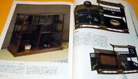 Japanese traditional furniture book japan hibachi table tansu cabinet #0085