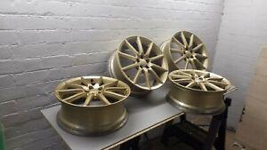 """Subaru legacy  18"""" alloy wheels 5 x 100 pcd"""