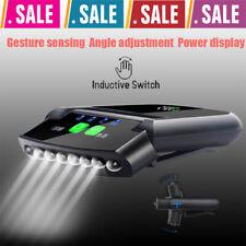 Cap Hat Light Hands-Free Sensor 6 LED Hat Lamp USB Headlamp Headlight Sensory US