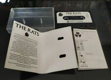 Vintage C64 commodore rare Game - James Herbert's The Rats - early horror