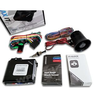 Firstech CM-900AS Controller Remote Start & Alarm Security MAX IT Kit Module