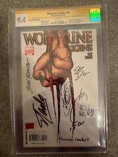 Wolverine Origins #10 3rd Claw Variant Signed CGC 9.4 SS 7x - 1st Daken STAN LEE
