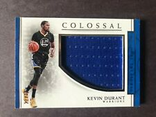 2016-2017 Panini National Treasures Colossal Jersey Kevin Durant #21/30