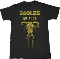 The Eagles On Tour Skull S, M, L, XL, 2XL Black T-Shirt