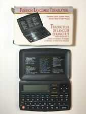 Radioshack Foreign Language Pocket Translator 6 Languages, Low Tech 2001 Travel