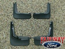 13 thru 19 Fusion OEM Genuine Ford Parts Molded Splash Guard Mud Flap Set of 4