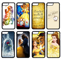BEAUTY AND THE BEAST DISNEY Phone Case Cover iPhone 4 5 SE 6 7 8 Plus X (S1)