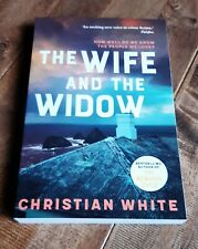 THE WIFE AND THE WIDOW By Christian White (paperback, 2019) Like New