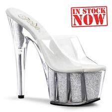 Party Standard Width (D) Wet look, Shiny Heels for Women
