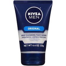NIVEA FOR MEN Original, Deep Cleaning Face Scrub 4.4 oz