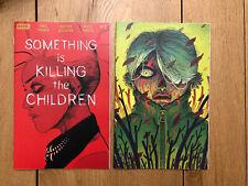 SOMETHING IS KILLING THE CHILDREN #2 REGULAR & FOC BERTRAM VARIANT SET 10/16