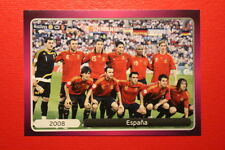 Panini EURO 2012 N. 537 ESPANA  NEW With BLACK BACK TOPMINT!!