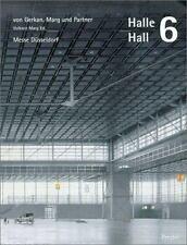 Halle Hall 6 (Architecture) Marg, Volkwin, Dusseldorf, Messe Paperback