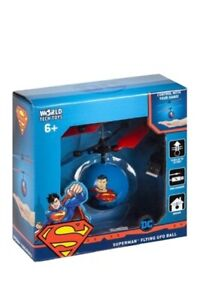 SUPERMAN Flying UFO Ball Motion Controlled Infrared RC Helicopter