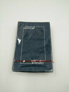 Cathay Pacific Airlines Deck of Playing Cards - UNOPENED -  Blue Box - Vintage