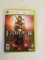 Microsoft Xbox 360 Fable II 2 with manual tested working