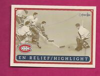 RARE 1992-93 OPC # 6 CANADIENS MAURICE ROCKET RICHARD FANFEST LIMITED /5000 CARD