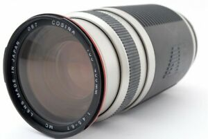 COSINA AF 100-400mm f/4.5-6.7 MC Lens for Nikon w/Caps [Exc-] from Japan #651568