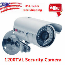 1200TVL HD CCTV Surveillance Security Cam Waterproof Outdoor IR Night Vision BP