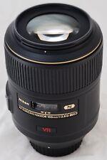 Nikon AF-S VR NIKKOR 105 mm F Micro/2.8 G Lens-IF-ED Micro-Nikkor