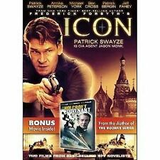 Icon  Patrick Swayze, Michael York Fahey FREE SHIPPING !! Pre-owned very good