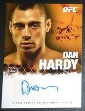 Dan Hardy Signed 2010 UFC Topps Round 4 Card #FA-DH Autograph 146 111 120 105 99