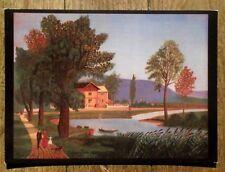 CPSM Andreas Bauer, Herbst am Neckar  ,carte postale