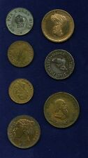 GERMANY 1902-1923 NOTGELD, GROUP LOT OF (7) TOKENS/MEDALS/COINS