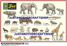Britains Model Zoo Animals 1968 A3 Size Poster Display Shop Sign Advert Leaflet