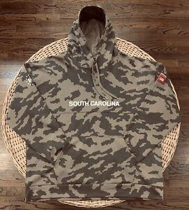 Under Armour South Carolina Gamecocks Mens Camo Military Appreciation Hoodie 4XL