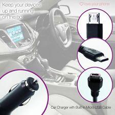 Nero ✔ 12v in Telefono Cellulare per Auto Accendisigari Caricatore ✔ tipo ✔ Apple C ✔ Micro USB